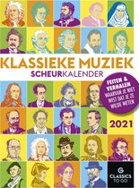 Scheurkalender Klassieke Muziek 2021