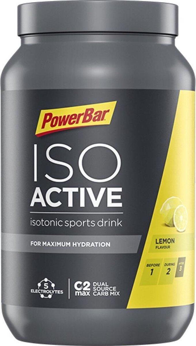 PowerBar IsoActive - sportdrank - 1320 gram - Lemon