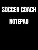 Soccer Coach Notepad