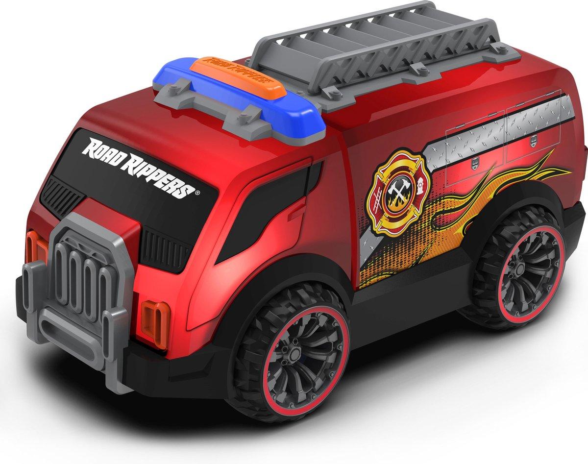 Nikko - Road Rippers Auto Rescue Flasherz: brandweerwagen