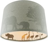Skittel Safari - Kinderkamer plafondlamp - Groen - E27