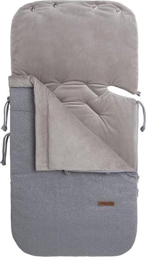 Product: Baby's Only Voetenzak autostoel 0+ Sparkle - zilvergrijs mêlee, van het merk Baby's Only