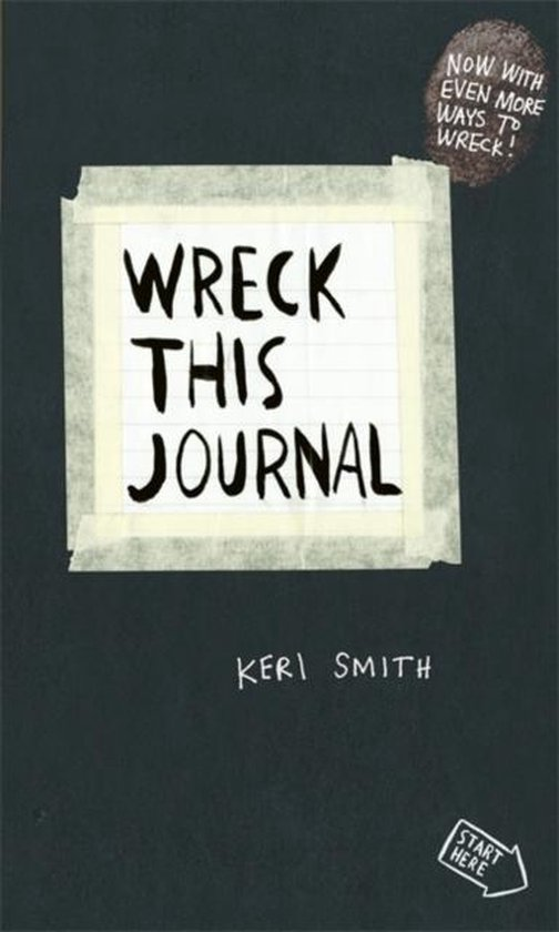 Boek cover Wreck This Journal: to Create Is to Destroy van Smith, Keri (Paperback)