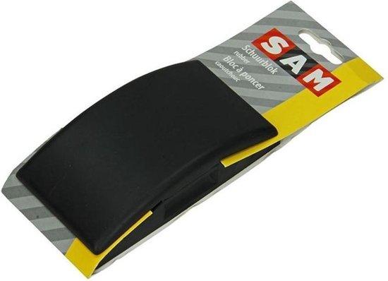 SAM schuurblok rubber
