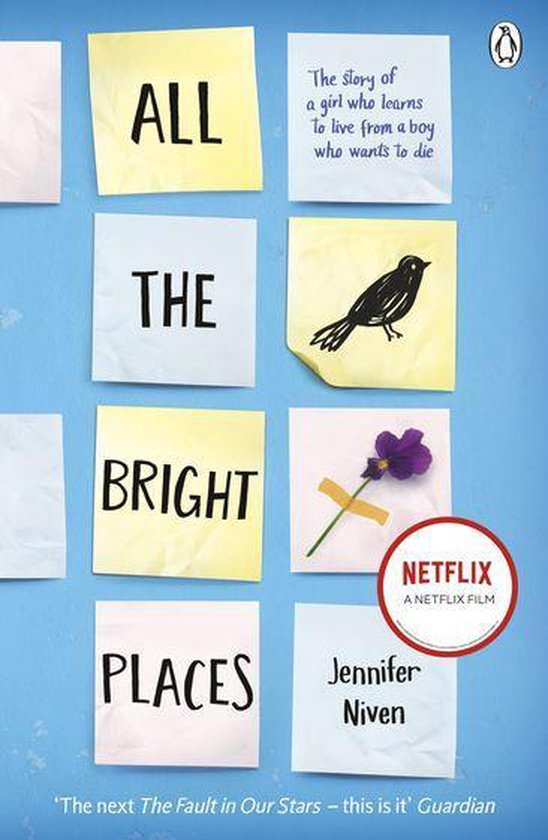 Boek cover All the Bright Places van Jennifer Niven (Onbekend)