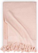 Walra Hamamdoek Soft Cotton - 100x180 cm - Roze