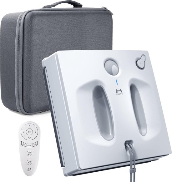 HUTT W66 Raamreiniger dweilrobot 2600 Pa -Lasersensor Spraakoverdracht...