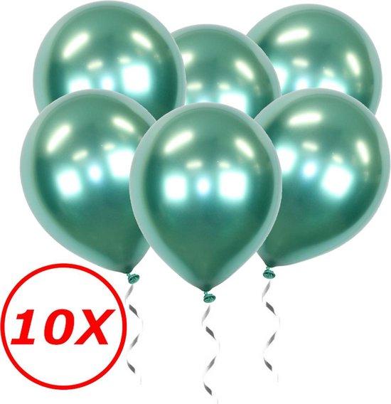 Groene Ballonnen Verjaardag Versiering Helium Ballonnen Feest Versiering Jungle Decoratie Chrome Versiering - 10 Stuks