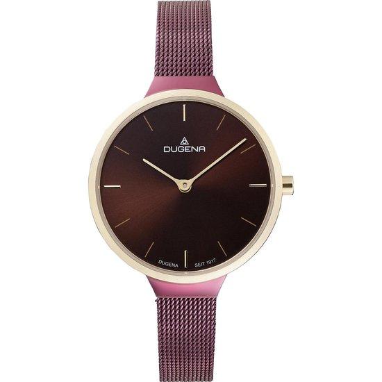 Dugena Dames horloge analoog quartz One Size Goud 32017596