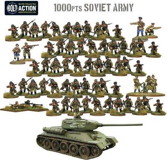Thumbnail van een extra afbeelding van het spel 1,000pt Soviet Army starter army
