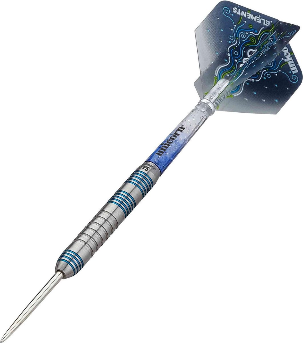 Unicorn Dartpijlen Core Xl T95 Steeltip 25g Tungsten Zilver