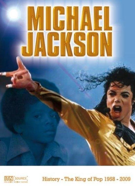 Cover van de film 'Michael Jackson'