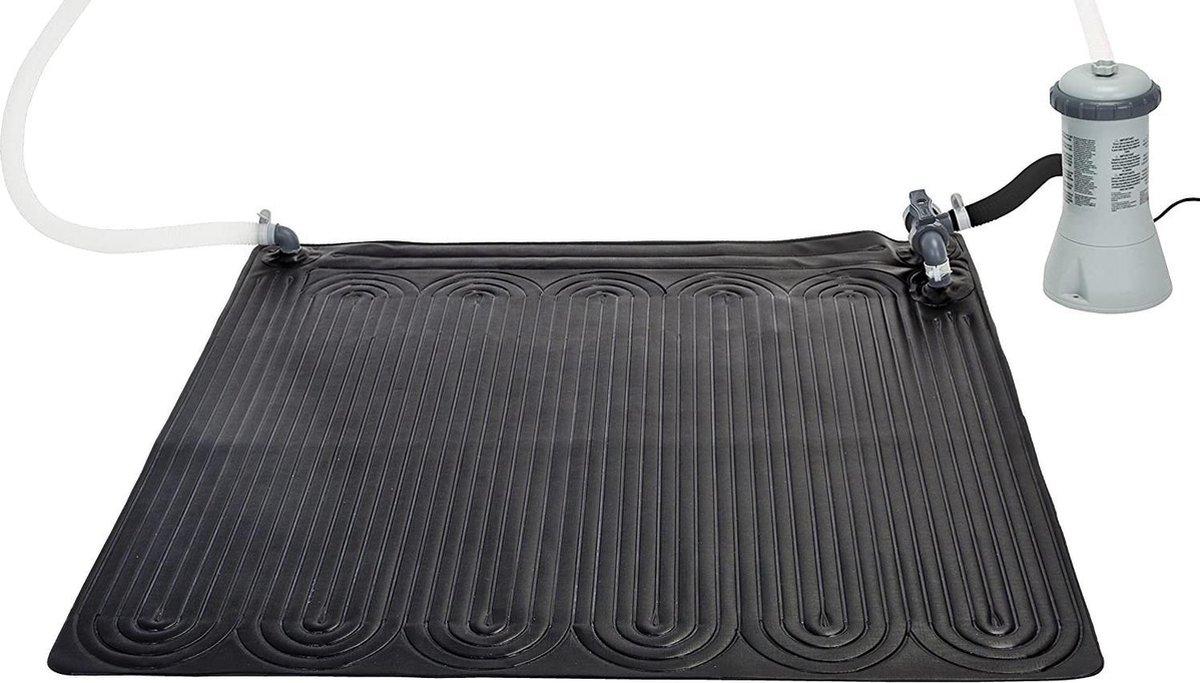 zwembad verwarming -marimex intex flexi-ekosun 28685 zonne-zwembad verwarmingsmat, slank, zwart, 120 x 0,5 x 120 cm - (WK 02123)