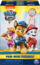 PAW Patrol De Film - Minifiguren - 5 cm - stijlen kunnen verschillen