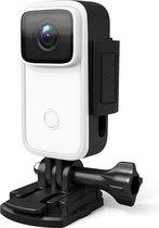 SJcam C200 4K Ultra HD mini action camera IPS Wifi / action cam met mounts / Aansluiting externe microfoon / Sony IMX sensor /  16 MP / 21 mounts / Gyro Stabilizer / waterproof case / Met SD-kaart 16 GB / Usb C opladen