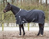 Harry's Horse Thor deken 0 grams met fleece lining zwart 185cm