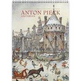Anton Pieck Verjaardagskalender - Amsterdam (formaat A4)