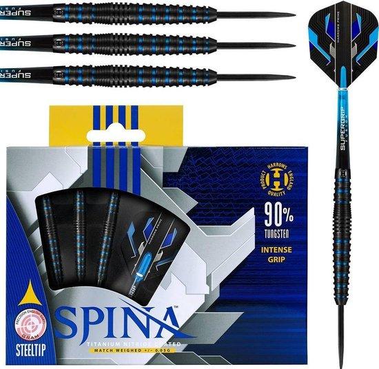 Afbeelding van het spel SPINA STEELTIP 90% 25GR BLUE/BLACK