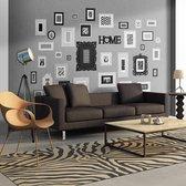 Fotobehang - Wall full of frames- zelf in te vullen