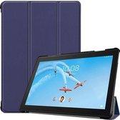 Lenovo Tab P10 (TB-X705) - Tri-fold Book Case - Donker Blauw