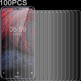 Let op type!! 100 stuks 0 26 mm 9H 2.5D explosieveilige getemperd glas Film voor Nokia 6.1 Plus