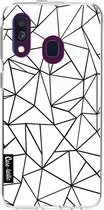 Samsung Galaxy A40 (2019) hoesje Abstraction Outline Casetastic Smartphone Hoesje softcover case