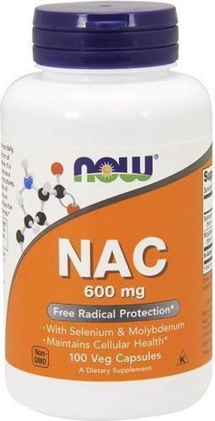 N-Acetyl Cysteine (NAC) 100v-caps