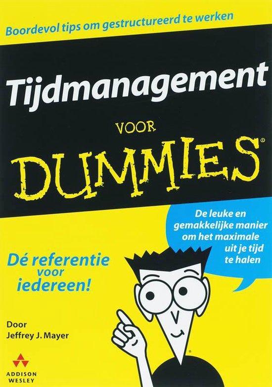 Voor Dummies - Tijdmanagement voor Dummies - J.J. Mayer pdf epub