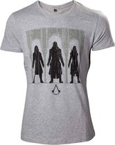 ASSASSIN'S CREED MOVIE- T-Shirt Group of Assassin's (XXL)