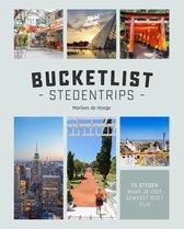 Boek cover Bucketlist stedentrips van Marloes de Hooge (Hardcover)