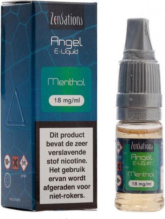 2-pack ZenSations e-liquid Menthol 18mg