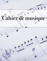 Cahier de Musique
