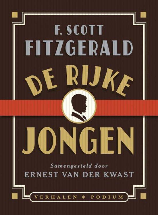 Boek cover De rijke jongen van F. Scott Fitzgerald (Paperback)