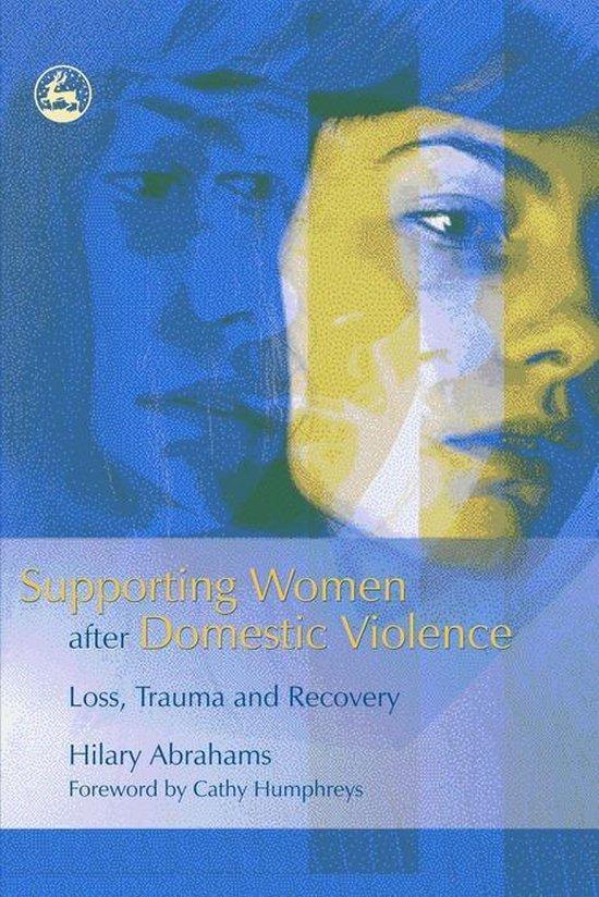 Omslag van Supporting Women after Domestic Violence