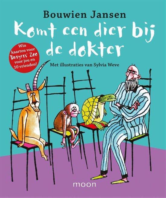 Komt een dier bij de dokter - Bouwien Jansen | Readingchampions.org.uk