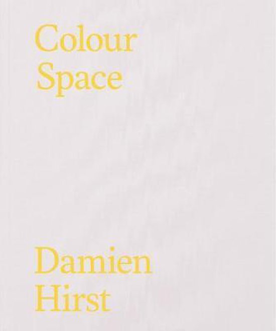 Boek cover Colour Space van Damien Hirst (Hardcover)