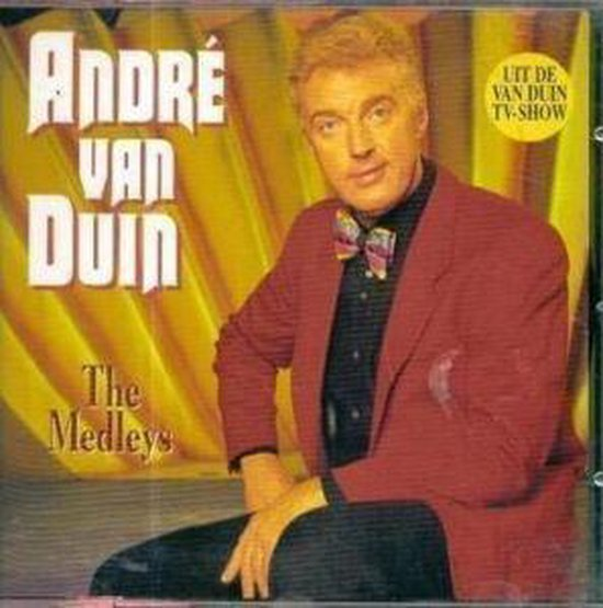 CD cover van André van Duin - The Medleys van Andre Van Duin