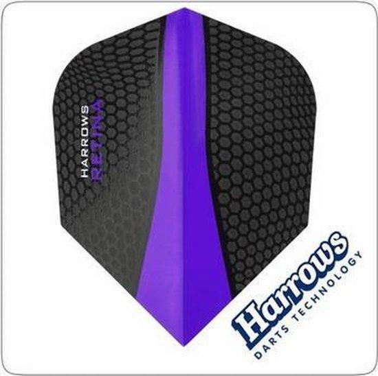 Afbeelding van het spel Harrows flights Retina Purple  Set à 3 stuks