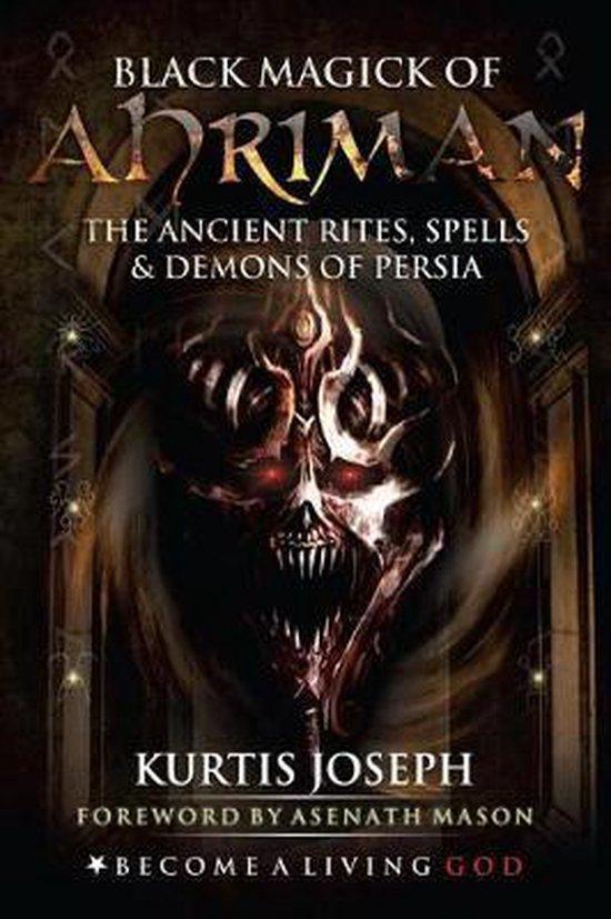 Boek cover Black Magick of Ahriman van Robert W Cook (Paperback)