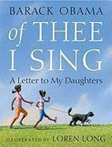 Boek cover Of Thee I Sing van Barack Obama (Paperback)