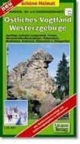 Östliches Vogtland, Westerzgebirge 1 : 35 000. Wander-, Ski- und Radwanderkarte