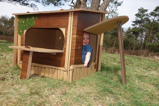 Van Hut Naar Her - Speelhut Speelhuisje - Boomhut Dutch Design