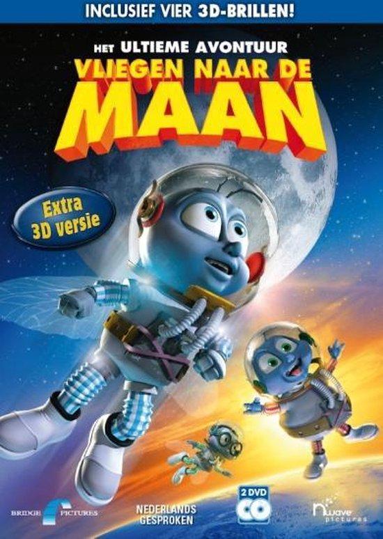 Cover van de film 'Vliegen Naar De Maan'