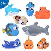 Finding Dory & Nemo Badspeelgoed - 8 stuks