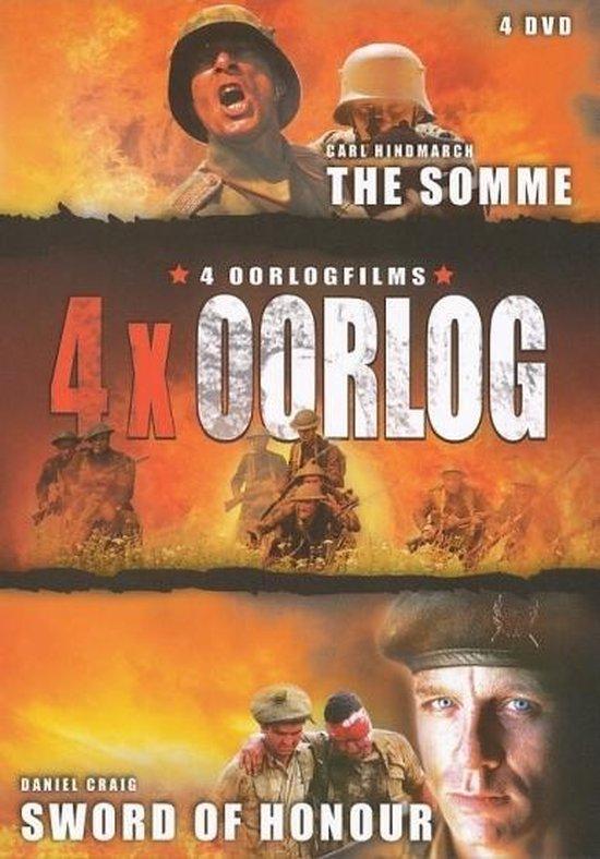 Cover van de film '4X Oorlog'