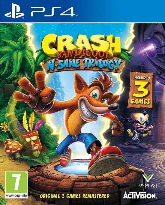 Crash Bandicoot N. Sane Trilogy + 2 bonus levels - PS4