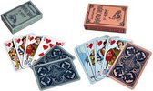 Hondjes speelkaarten - 2 pakjes - 1x roze - 1x blauw
