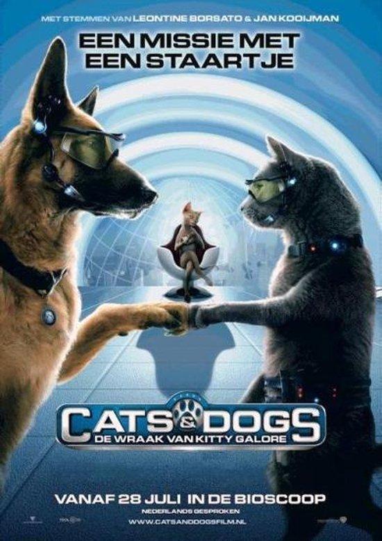 Cover van de film 'Cats & Dogs - De Wraak Van Kitty Galore'