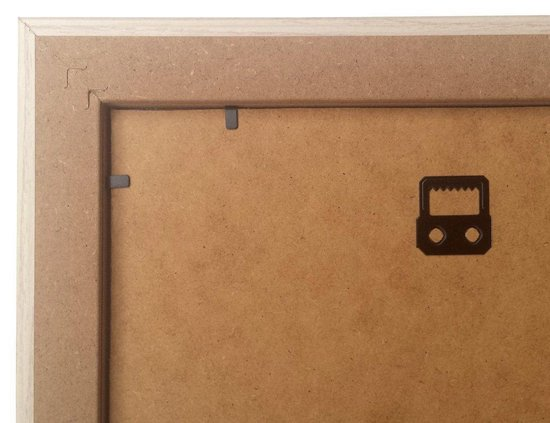 Homedecoration Misano – Fotolijst – Fotomaat – 20 x 61 cm  – Zwart houtnerf