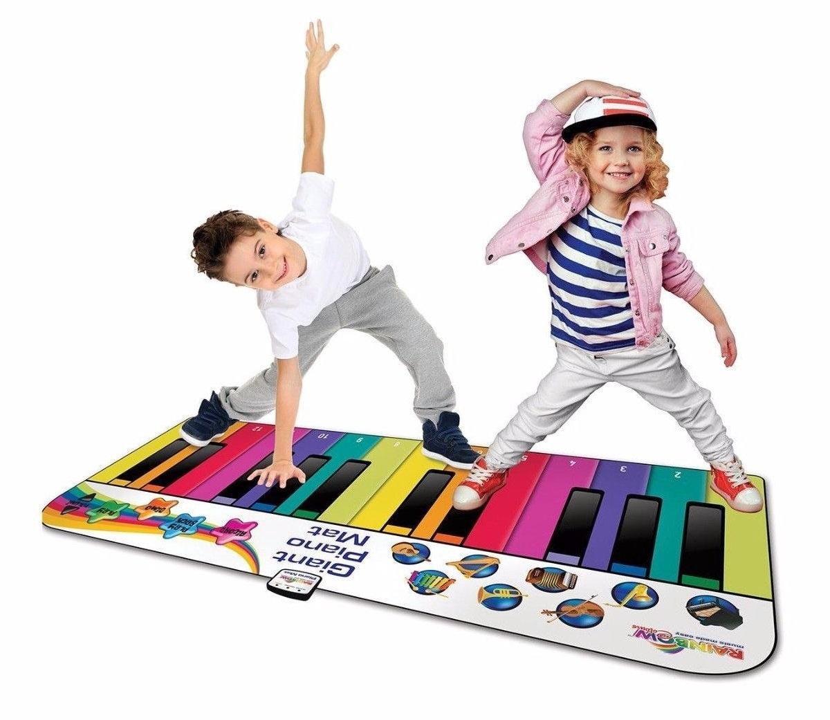 Rainbow - Piano mat XXL: 180 cm
